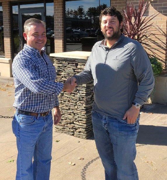 Kevin Horgan and Jeff Black